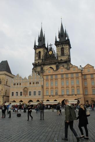 Rathaus in Prag
